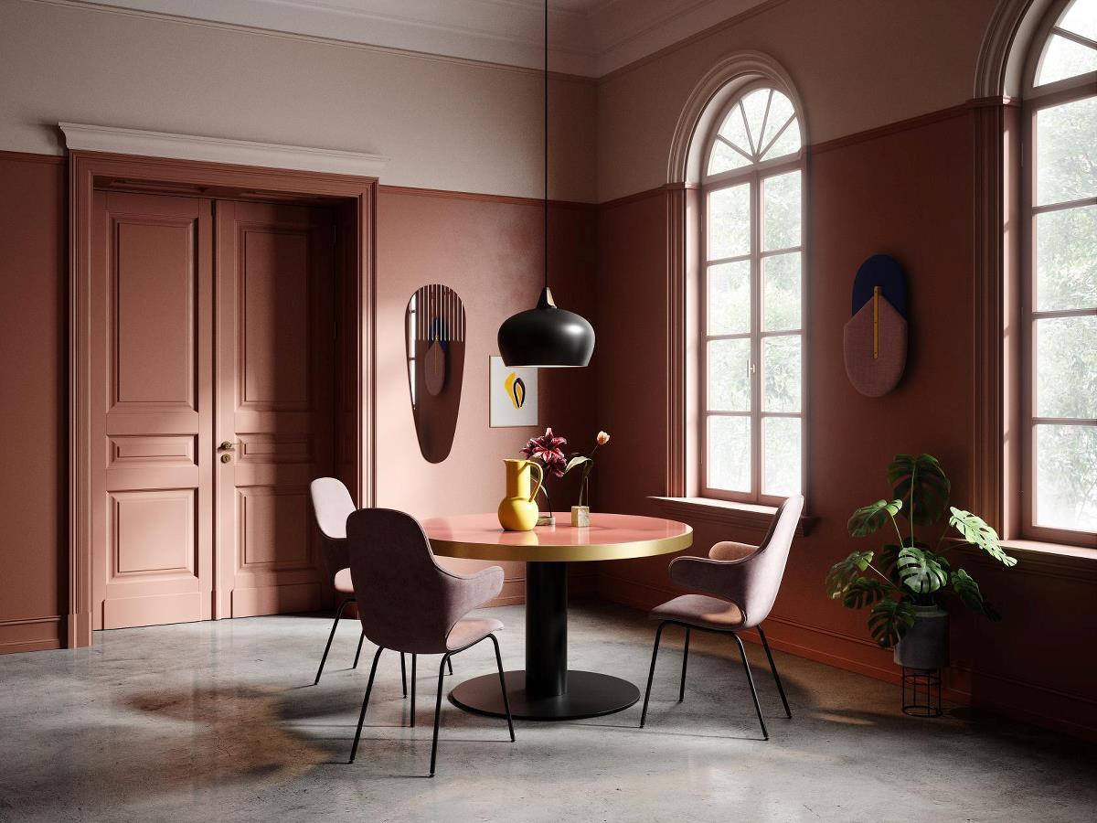 Kleurrijke Interieurs Pastel : Stijlvolle interieurs. het ontwerp is versierd met schattige houten